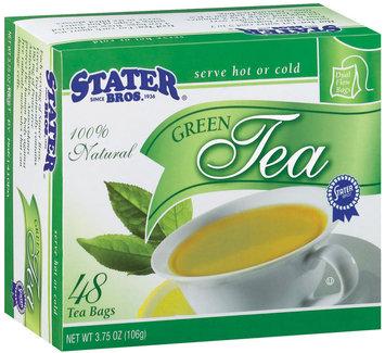 Stater Bros. 100% Natural Green Tea Tea 3.75 Oz Box