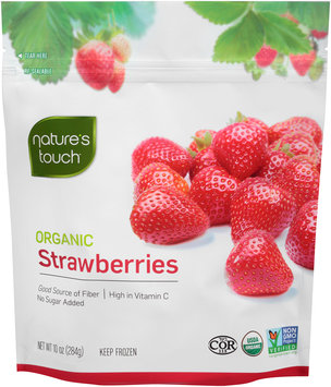 Nature's Touch™ Organic Strawberries 10 oz. Stand-Up Bag