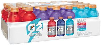 G2® Fruit Punch/Grape/Glacier Freeze® Sports Drink Variety Pack 28-12 fl. oz. Bottles