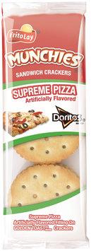 Munchies Doritos Supreme Pizza Sandwich Crackers