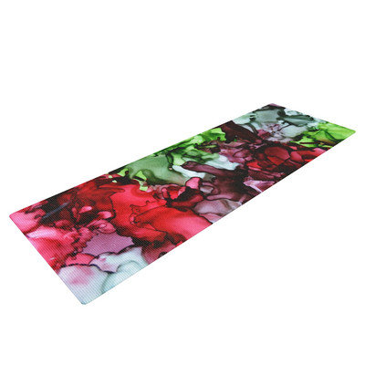 Kess Inhouse TMNT by Claire Day Yoga Mat