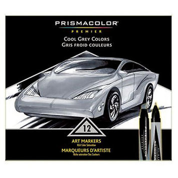 Alvin & Company Alvin BP12P Marker Set-prism Cool Gray