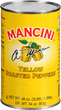Mancini® Yellow Roasted Peppers 48 oz. Can