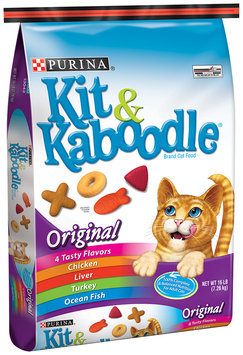 Purina Kit & Kaboodle Original Cat Food 16 lb. Bag
