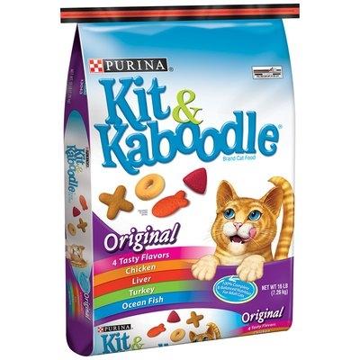 Purina Kit & Kaboodle Original Cat Food 16 lb. Bag