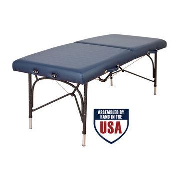 Oakworks Wellspring Massage Table Color: Sapphire, Width: 31