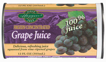 Haggen  Grape Juice 12 Oz Can