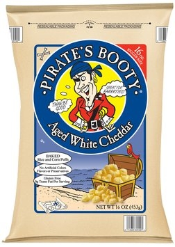 Pirate's Booty® Aged White Cheddar Rice and Corn Puffs