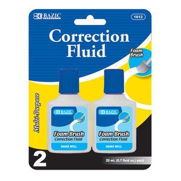 BAZIC 15 ml/0.5 fl. oz. Correction Fluid(Case of 144)