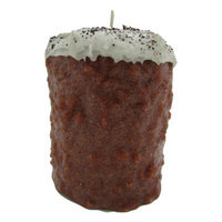Starhollowcandleco Hazelnut Coffee Pillar Candle Size: Giant Fatty 7