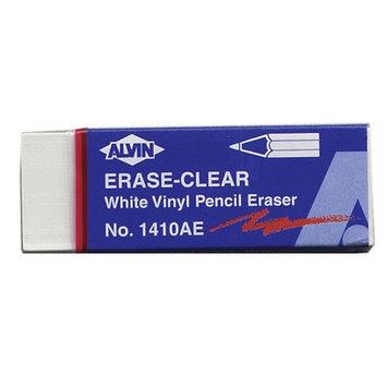 Alvin & Company Alvin 1410AE White Vinyl Pencil Eraser 20pc