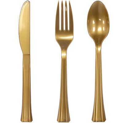 Posh Table Plastic Cutlery Set
