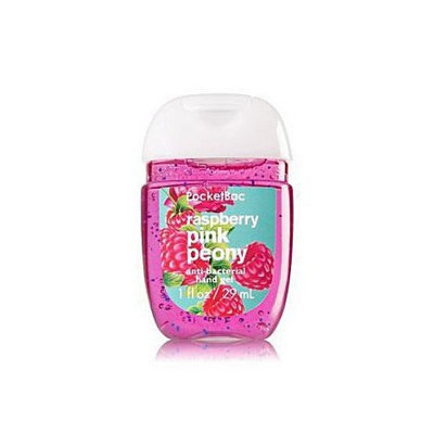 Bath & Body Works® PocketBac Raspberry Pink Peony Anti-Bacterial Hand Gel