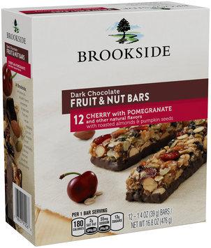 Brookside Dark Chocolate Cherry with Pomegranate Fruit & Nut Bars 12-1.4 oz. Bars