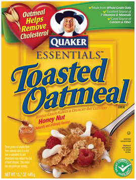 Quaker® Essentials Honey Nut Toasted Oatmeal