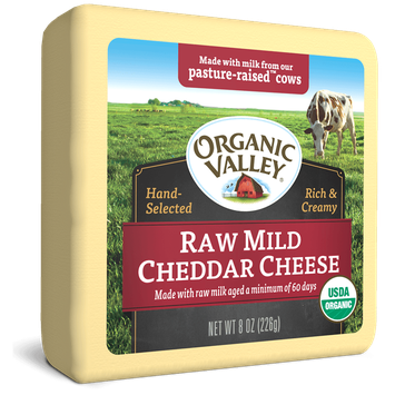 Organic Valley® Raw Mild Cheddar