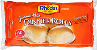 Rhodes Bake-N-Serv® Frozen Gourmet White Dinner Rolls Dough 60 ct Bag
