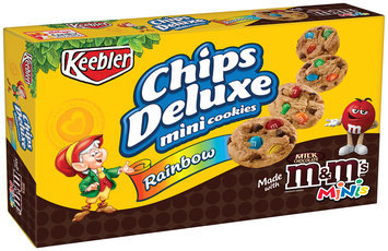 Keebler™ Chips Deluxe® Rainbow™ with M&M'S® Mini Cookies 2.2 oz. Package