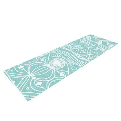 Kess Inhouse Beach Blanket Bingo by Catherine Holcombe Yoga Mat