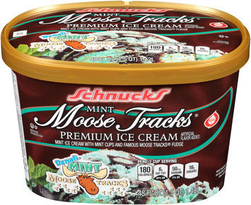 Schnucks® Ice Cream Mint Mouse Tracks® 48 fl. oz. Carton