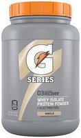 Gatorade® G Series™ 03 Recover Vanilla Whey Isolate Protein Powder
