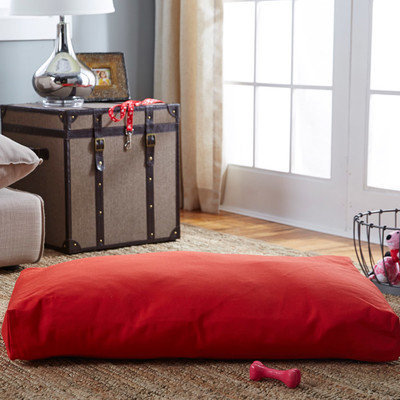 O'donnell Industries Snoozer SN-63201 Snoozer Rectangular Pillow Bed - Medium-Red
