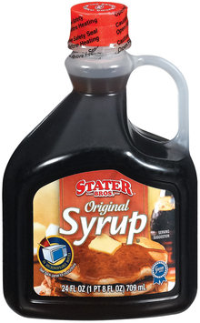 Stater Bros. Original Syrup 24 Fl Oz Plastic Bottle