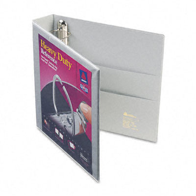 Avery 79405 Nonstick Heavy-Duty EZD Reference View Binder 1-1/2 Capacity Gray