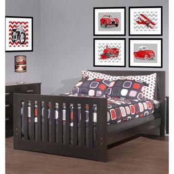 Capretti Design Liscio Toddler and Full Size Bed Conversion Kit Finish: Amaretto
