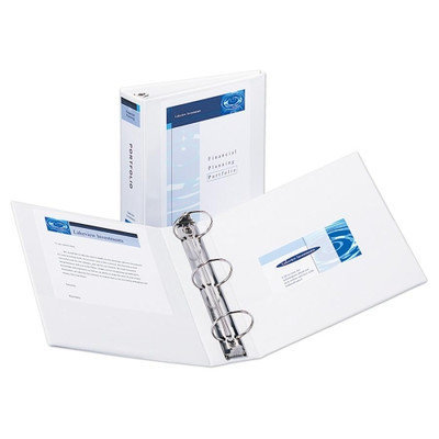 Avery Economy View Round Ring Reference Binder