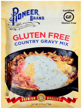 Pioneer Brand® Gluten Free Country Gravy Mix 2.75 oz. Packet