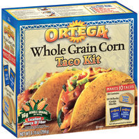 Ortega Whole Grain Corn Taco Kit 9.15 Oz Box