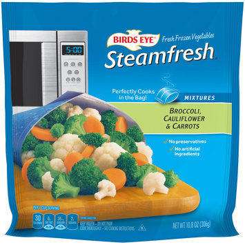 Birds Eye® Steamfresh® Mixtures Broccoli, Cauliflower & Carrots 10.8 oz. Bag