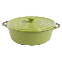 Gibson CP 3qt Casserole and Lid Green