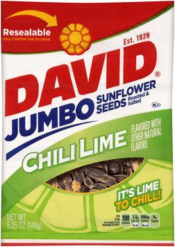 David® Jumbo Chili Lime Sunflower Seeds 5.25 oz. Bag