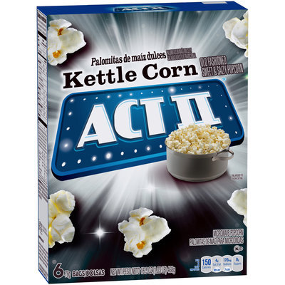 Act II® Kettle Corn Microwave Popcorn