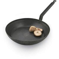 Paderno World Cuisine 8in Black Steel Frying Pan