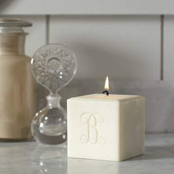 Birch Lane Brewer Monogrammed Candle Initial: Single Initial