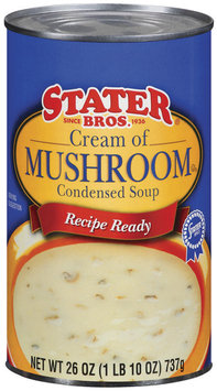 Stater Bros. Cream of Mushroom Condensed Soup 26 Oz Can