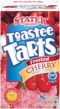Stater Bros. Toastee Tarts Cherry Toaster Pastries 8 Ct Box