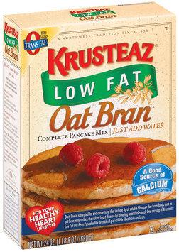Krusteaz Oat Bran Complete Low Fat Pancake Mix 24 Oz Box