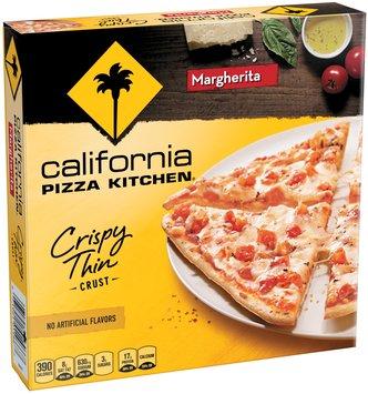 CALIFORNIA PIZZA KITCHEN Crispy Thin Crust Margherita Small Pizza 6.1 oz. Box