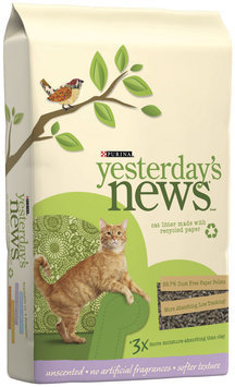 Purina Yesterday's News Unscented Softer Texture Cat Litter 26.4 lb. Bag