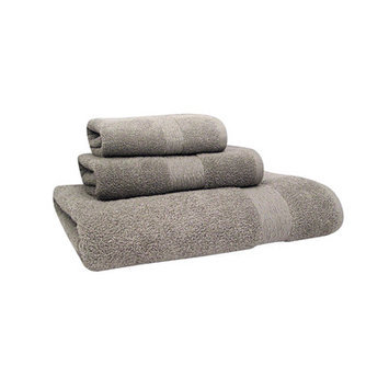 Jessica Simpson Home Signature Hand Towel (Set of 2), Neutral Gray
