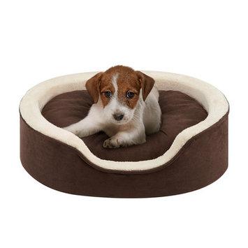 Soft Touch Milo Oval Cuddler Dog Bed - 18