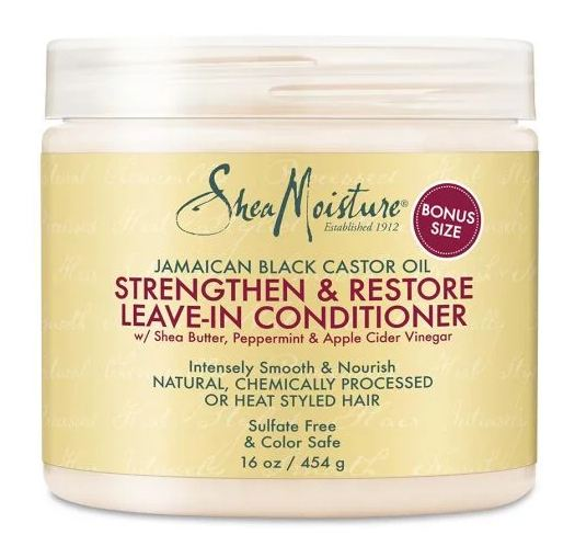 SheaMoisture® Jamaican Black Castor Oil Strengthen & Restore Leave-in Conditioner
