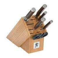 Shun Premier 7 Piece Essential Knife Block Set