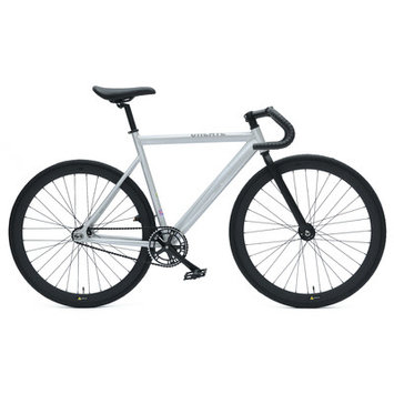 Ideacycle C8 Aero Fixed Gear Road Bike Color: Raw, Size: 54cm