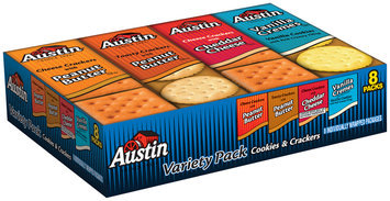 Austin® Variety Pack Cookies & Crackers 8 ct Tray