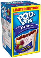 Kellogg's Pop-Tarts Frosted Grape Toaster Pastries